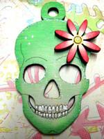 Funky Skull 2 by Ideas-in-the-sky