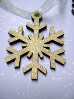Glittery Snowflake by Ideas-in-the-sky