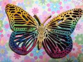 Butterfly Brooch by Ideas-in-the-sky
