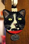Pet portrait Bauble 2