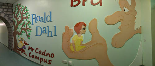Roald Dahl School Installation