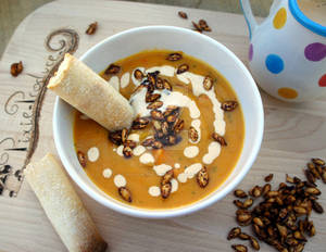Butternut squash soup - Pixie Produce