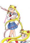 Sailor Moon Fanart 2 by MagicalDragon8
