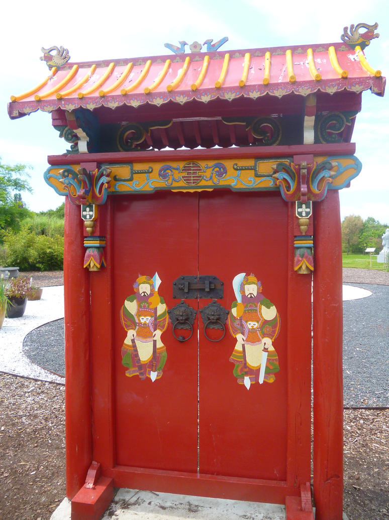 Chinese door by MagicalDragon8 ... & Chinese door by MagicalDragon8 on DeviantArt