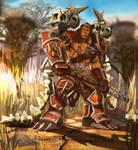 Warcraft Mag'Har orc