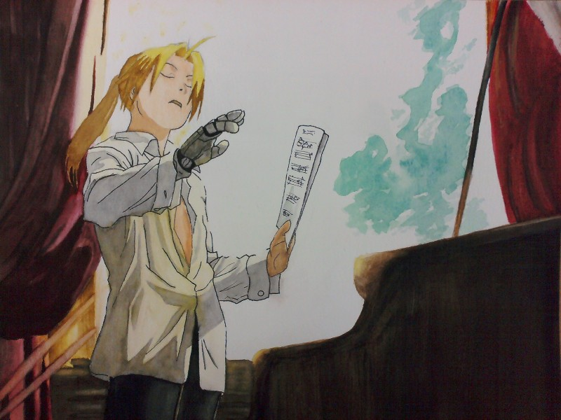 Edward Elric Ponytail Conductor Edward Elric by