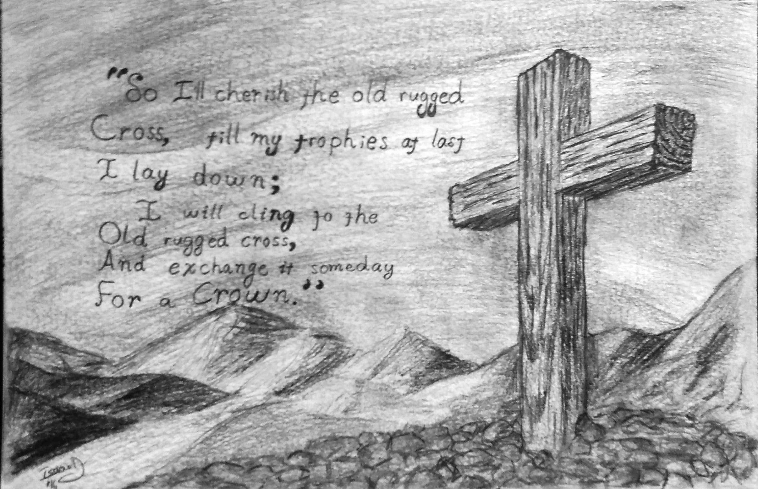 The Old Rugged Cross By Tranquilnova On Deviantart