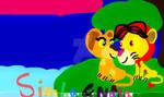 Simba and Nala: Can You Feel The Love Tonight? by MagicalHyena-FanArt