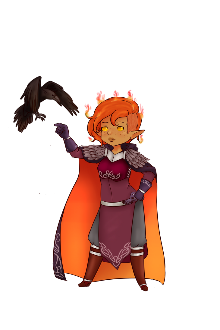 DND Commission by LadyIidako