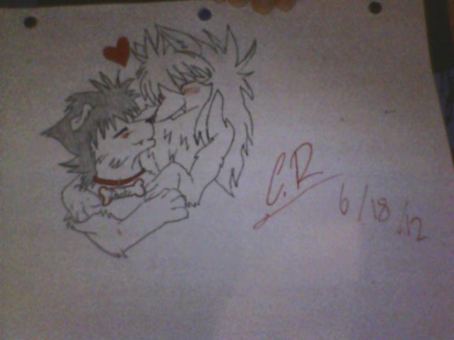 2 Anime wolves in Love ^.^ by roxas23457 on DeviantArt