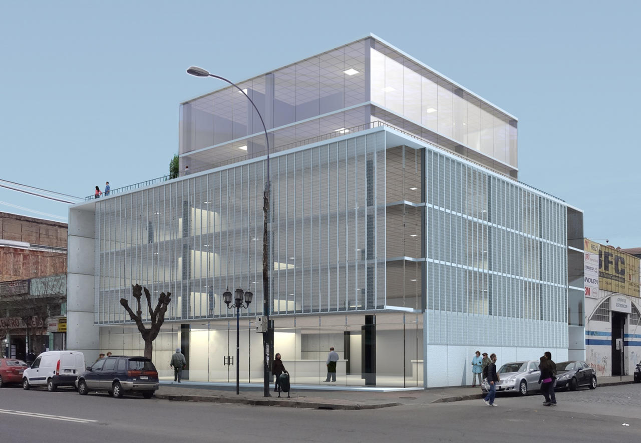 Office building in valparaiso v2 view 1 by rologl on for Edificios de oficinas en valencia
