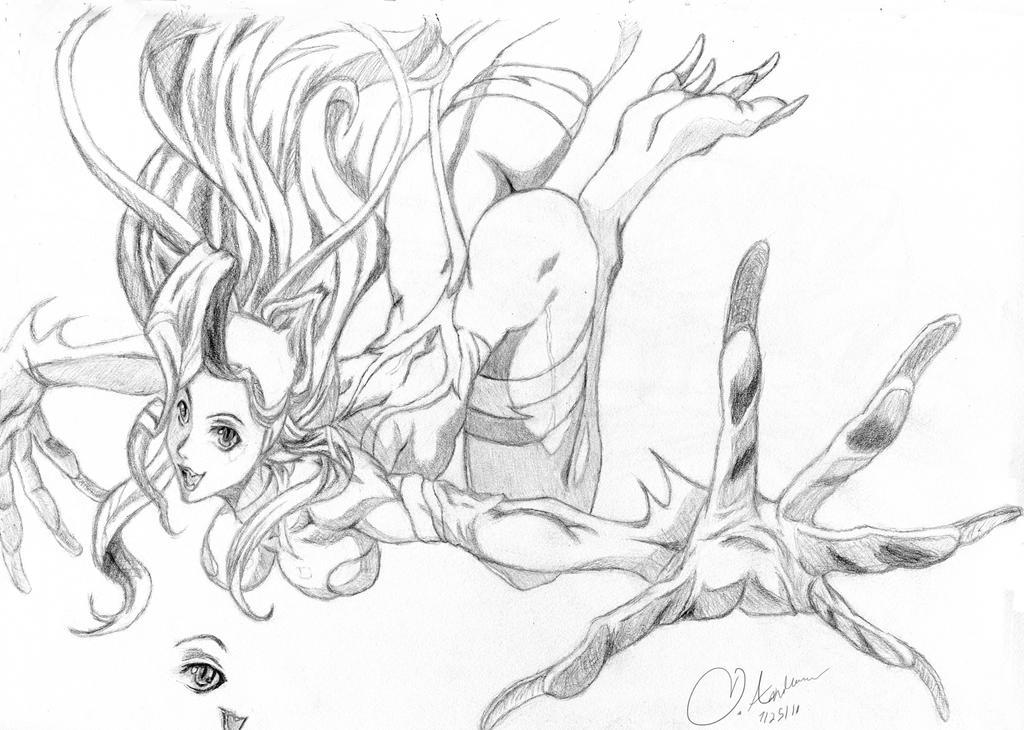 Fan_Felicia_Drawing by Omega-ca