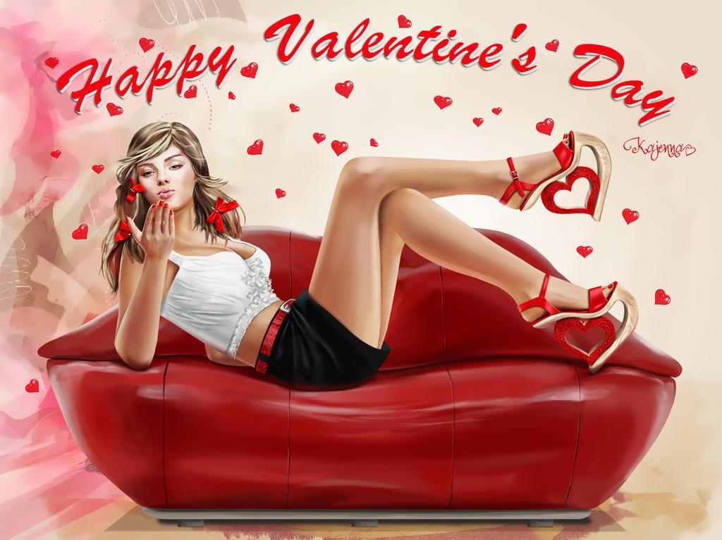 Happy Valentine's Day by Kajenna