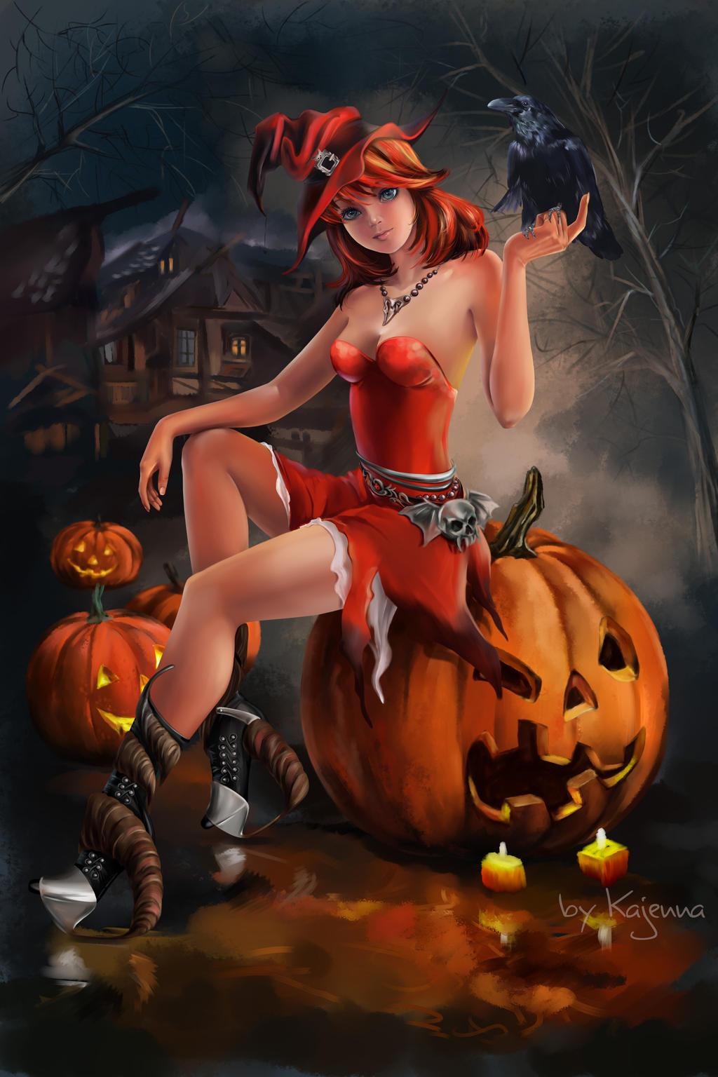 hot halloween wallpapers - photo #37