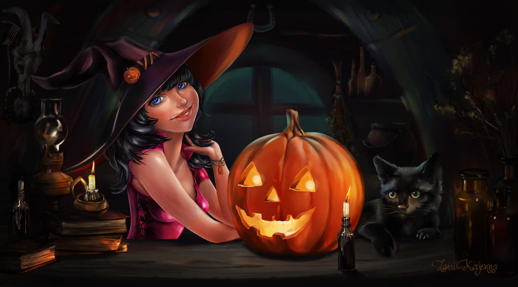 hot halloween wallpapers - photo #22