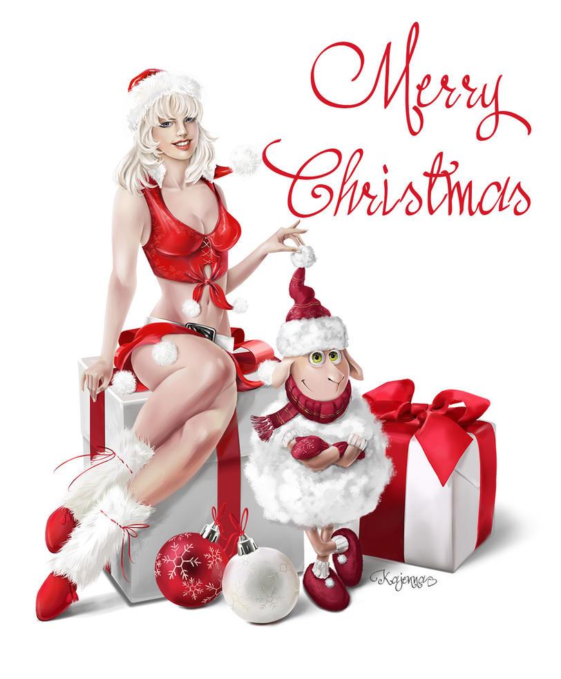 Merry Christmas by Kajenna