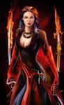 Fiery warrior