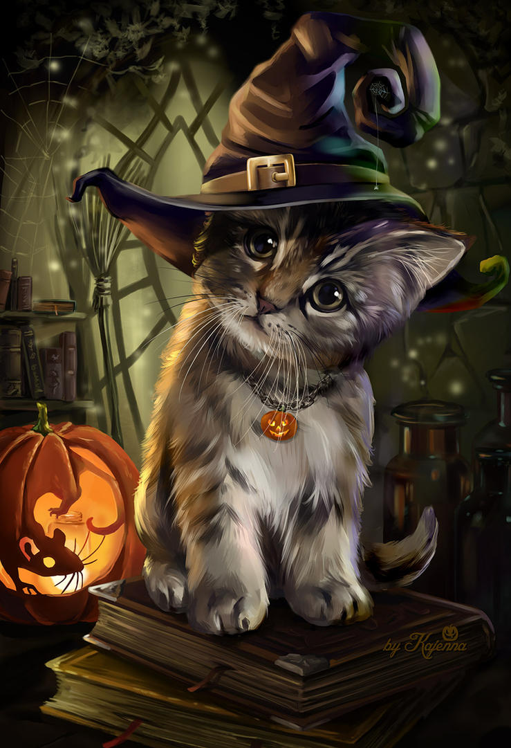 Magic Cat by Kajenna