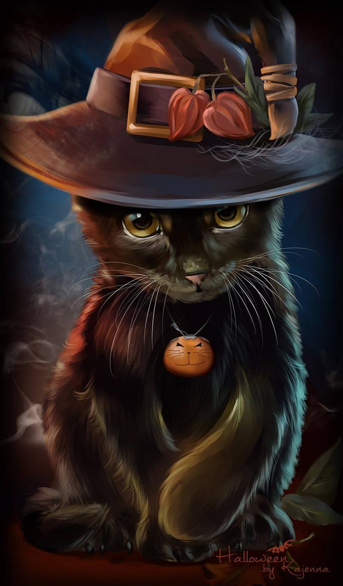 Black Cat by Kajenna