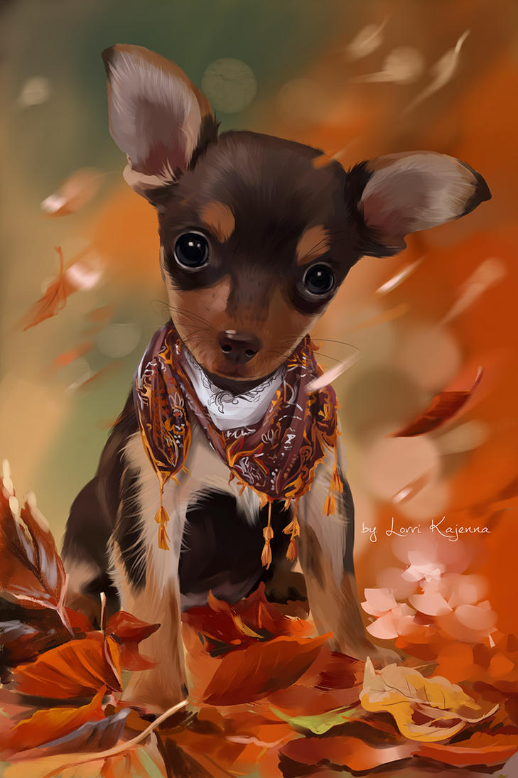 Russian Toy Terrier by Kajenna