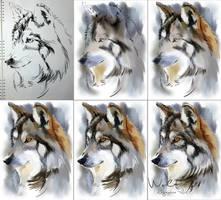 Wolf (Step by step) by Kajenna