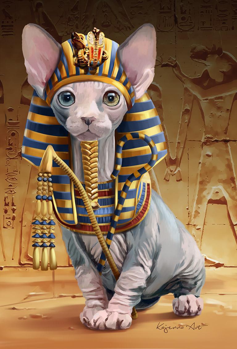 Pharao Katze
