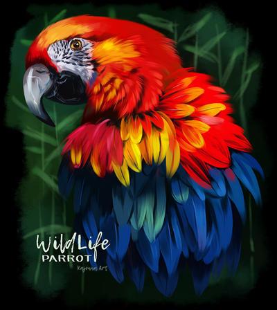 Parrot by Kajenna