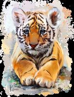 Little Tiger by Kajenna