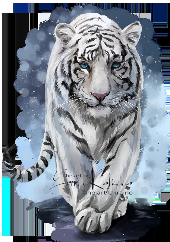 White Tiger by Kajenna