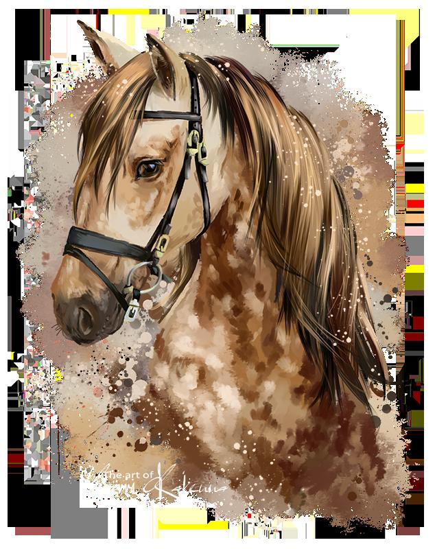 Horse by Kajenna