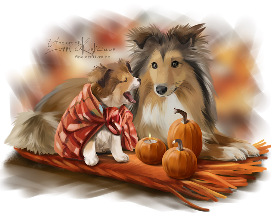 Sheltie by Kajenna