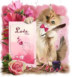 Love you by Kajenna