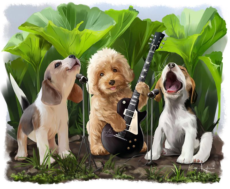 The Dog Band by Kajenna