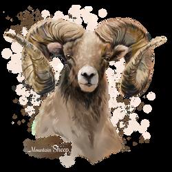 Mountain Sheep by Kajenna