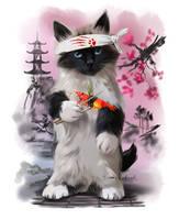 Sushi-Cat by Kajenna