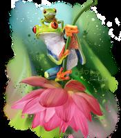 I love frogs by Kajenna