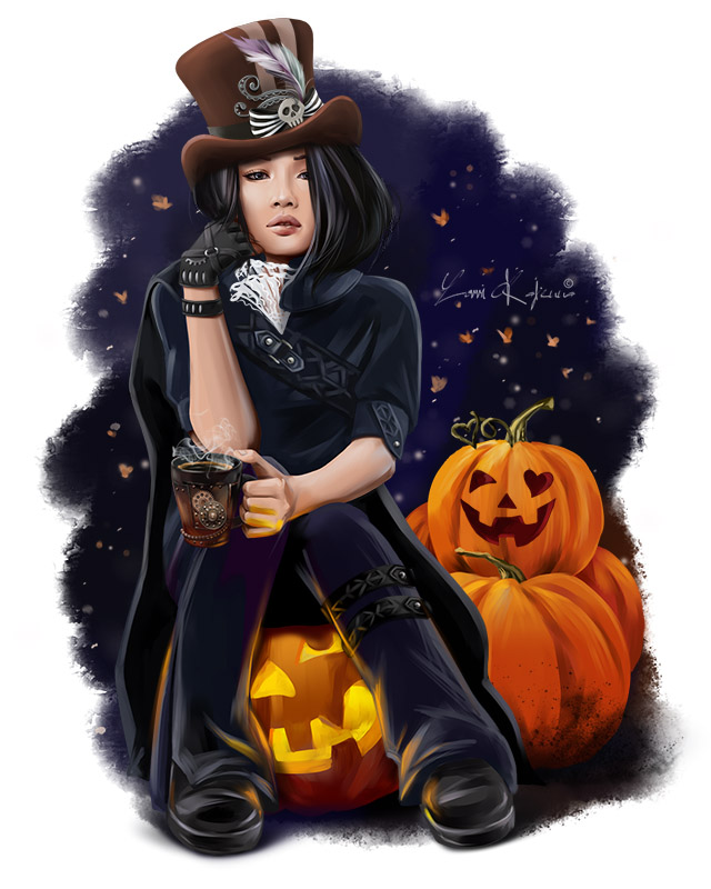 Halloween Witch by Kajenna