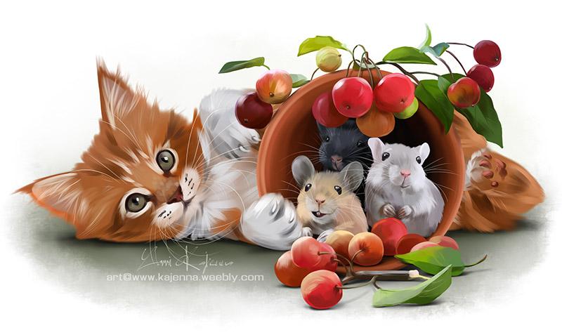 My happy harvest by Kajenna
