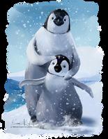 Penguins by Kajenna