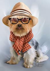 My favorite hipster by Kajenna