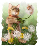 A gift of dandelions