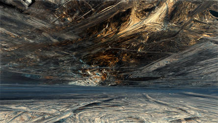 Threads of reality woven into a virtual landscape