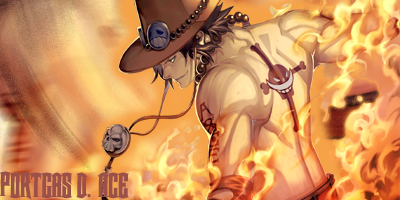 Portgas D. Ace by redxdrag