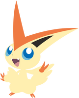 Victini Vector by fra-92