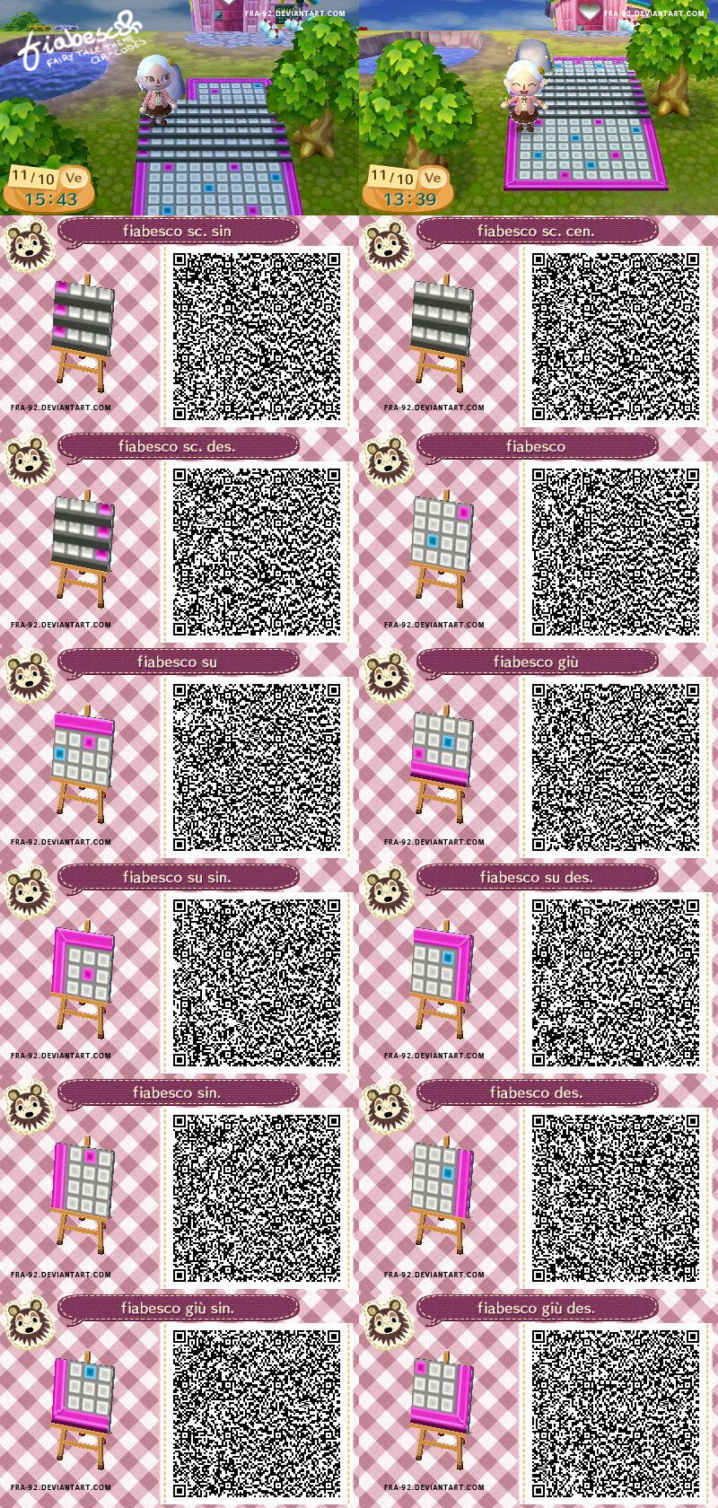 Fiabesco Fairy Tale Qr Code Patterns Acnl By Fra 92 On Deviantart