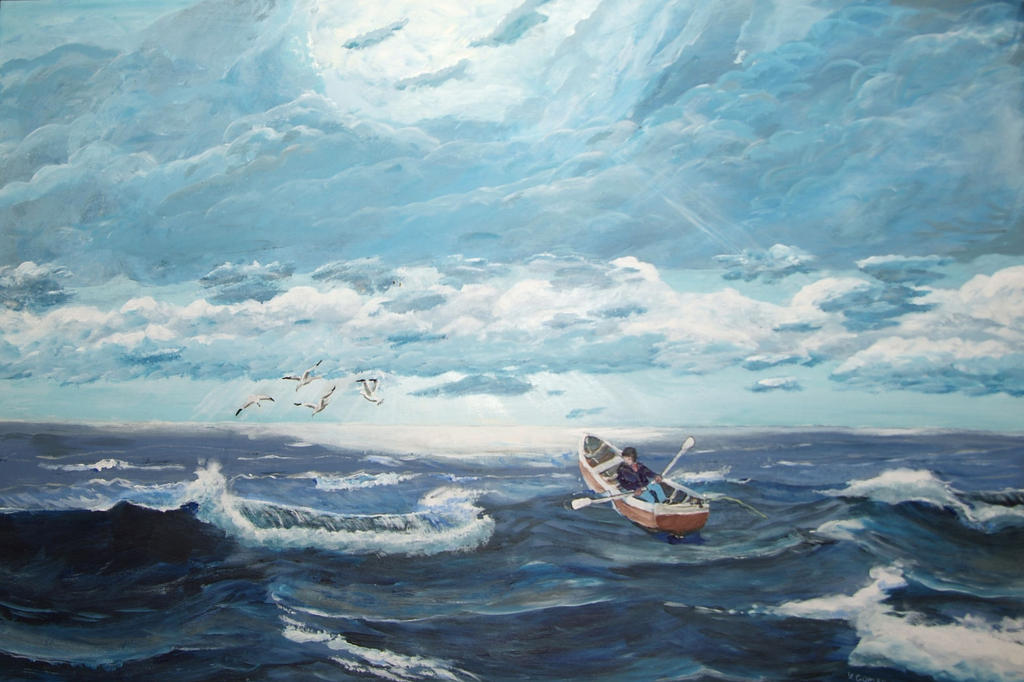 the old man and the sea essay thesis Literary analysis of the old man and the sea: lastly, students should present the thesis statement.