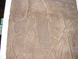 Assyrian mural by Eitansun