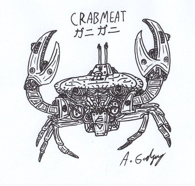 real life crabmeat by thecrimsonemo on deviantart