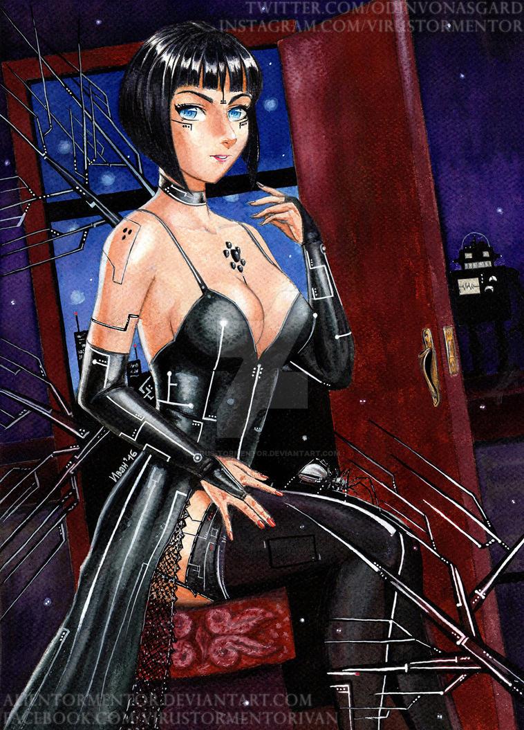 The Star Goddess by AlienTormentor