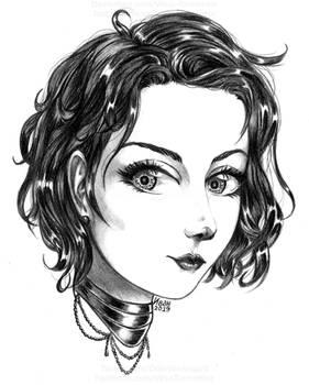 Black Curls (OC)